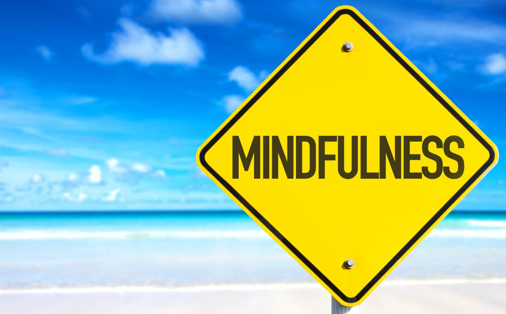 50596009 - mindfulness sign with beach background